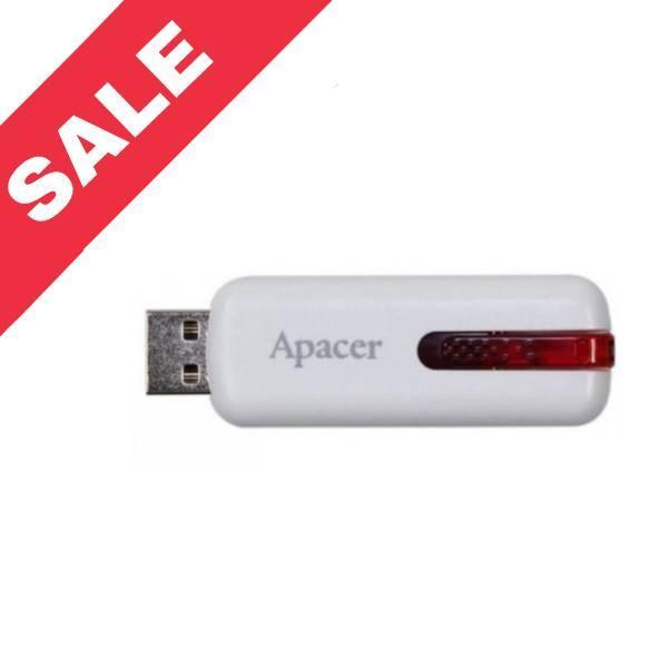 """USB Flash накопичувач(флешка) """"Apacer"""" 64Gb White"""