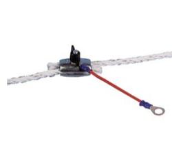 З'єднання єднувач до шнуру Ø 6,5 мм, червоний. АКО