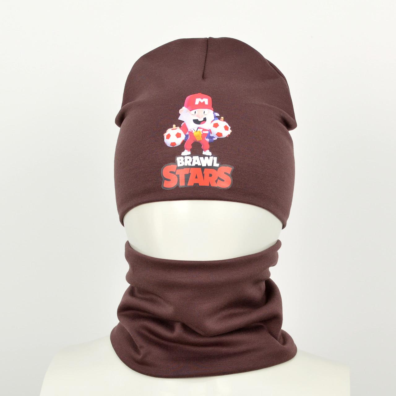 Детский комплект brawl stars коричневый