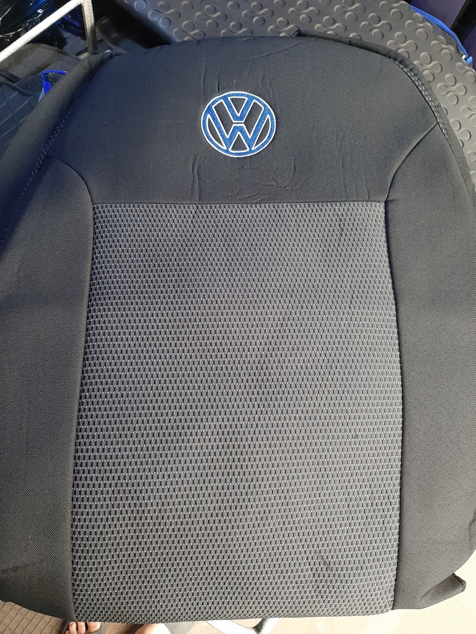"Чехлы на Volkswagen Touareg 2010- / авто чехлы Фольксваген Таурег ""EMC Elegant"""