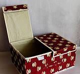 Органайзер для хранения вещей 2 секции 36см*26*см*17см, фото 7