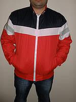Европейская куртка красна-черная двухсторонняя
