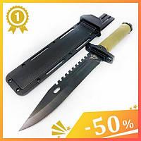 Тактический нож GERBFR 2358В. Нож для охоты, рыбалки и туризма. Охотничий нож. Нож для выживания. Нож в чехле