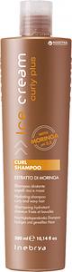 Шампунь для вьющихся волос Inebrya Ice Cream Curly Plus Curl Shampoo 300 мл.