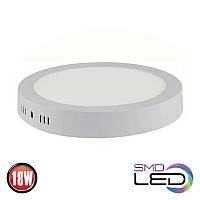 Светильник накладной HOROZ ELECTRIC CAROLINE-18 LED 18W 1300 Lm 165-260V d-210мм 4200К круг, фото 1