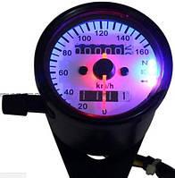 Спидометр механический для мотоцикла черный