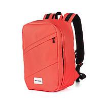 """Рюкзак для ручной клади Wascobags 40x20x25 """"RW"""" Коралл (Wizz Air / Ryanair)"""