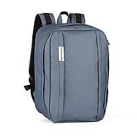 "Рюкзак для ручной клади Wascobags 40x30x20 ""WZ"" Графит (Wizz Air / Ryanair)"