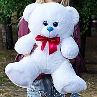 Плюшевый мишка 65 см белый, лучший подарок на День рождения, 8 марта, День влюбленных