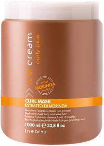 Маска для вьющихся волос Inebrya Ice Cream Curly Plus Curl Mask 1000 мл.
