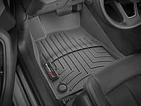 Ковры резиновые WeatherTech передние черные Audi A5 18+ 1 ряд