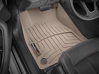 Ковры резиновые WeatherTech передние беж. Audi A5 18+ 1 ряд