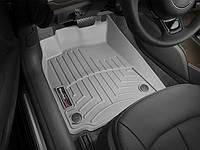 Ковры резиновые WeatherTech передние серые Audi A6 12+