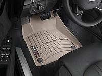 Ковры резиновые WeatherTech передние беж. Audi A8 12+