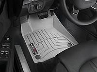 Ковры резиновые WeatherTech передние серые Audi A8 12+