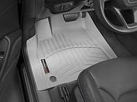 Ковры резиновые WeatherTech Audi Q7 16+ передние серые