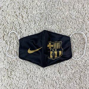 Захисна двошарова маска Барселона (Barcelona) чорна