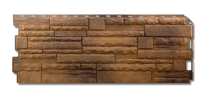 Скалистый камень Тибет. Фасадные панели. Цокольный сайдинг.