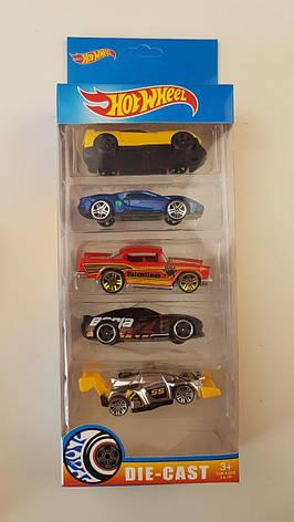 Набор машинок Hot Wheel, 5 машин в комплекте, хот вилс G889-5, фото 2