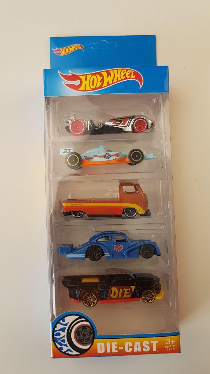 Набор машинок Hot Wheel, 5 машин в комплекте, хот вилс G889-5