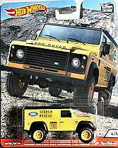 Коллекционная машинка Hot Wheels  Land Rover Defender 110