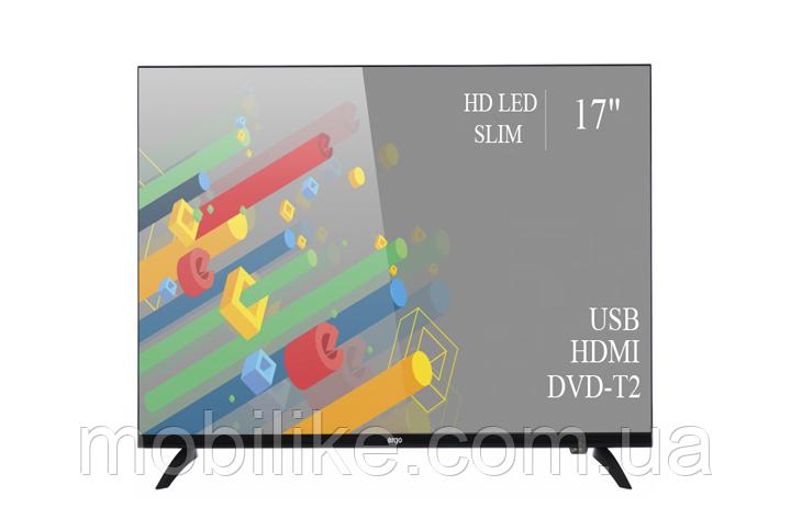 """Функциональный телевизор Ergo 17"""" HD Ready/DVB-T2/USB (1366x768)"""