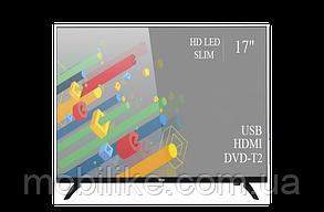 """Функціональний телевізор Ergo 17"""" HD Ready/DVB-T2/USB (1366x768)"""