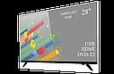 """Функциональный телевизор Ergo  28"""" Full HD/DVB-T2/USB (1920×1080), фото 2"""