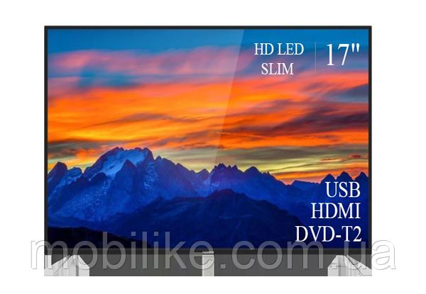 """Функціональний телевізор Thomson 17"""" FullHD/DVB-T2/USB (1366x768)"""