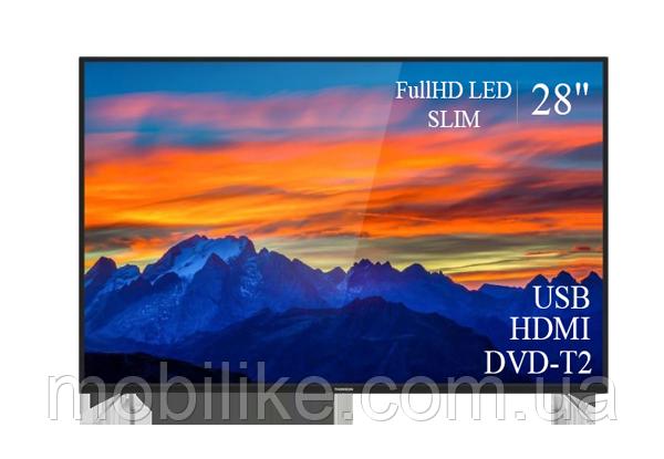 "Функциональный телевизор Thomson  28"" FullHD/DVB-T2/USB (1920×1080)"