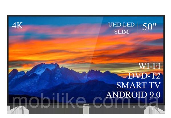 """Функциональный телевизор Thomson  50"""" Smart-TV//DVB-T2/USB АДАПТИВНЫЙ UHD,4K/Android 9.0"""
