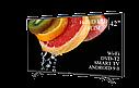 """Функціональний телевізор Hisense 42"""" Smart-TV/Full HD/DVB-T2/USB Android 9.0, фото 4"""