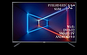 "Функциональный телевизор Sharp  32"" Smart-TV/Full HD/DVB-T2/USB  Android 9.0, фото 4"