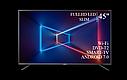 "Функціональний телевізор Sharp 45"" Smart-TV/Full HD/DVB-T2/USB Android 7.0, фото 4"