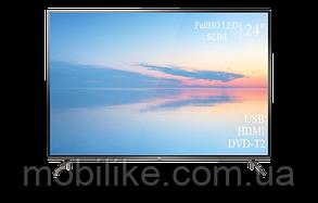 """Функціональний телевізор TCL 24"""" FullHD+DVB-T2+USB"""