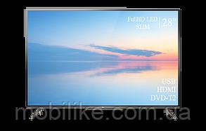 """Функціональний телевізор TCL 28"""" FullHD+DVB-T2+USB"""
