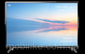 """Функціональний телевізор TCL 52"""" Smart-TV/DVB-T2/USB Android 7.0 АДАПТИВНИЙ 4К/UHD"""