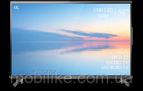 """Функціональний телевізор TCL 56"""" Smart-TV/DVB-T2/USB АДАПТИВНИЙ UHD,4K/Android 9.0"""