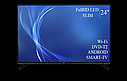 """Функціональний телевізор Bravis 24"""" Smart-TV/Full HD/DVB-T2/USB, фото 4"""