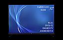 "Функциональный телевизор Bravis  32"" Smart-TV/Full HD/DVB-T2/USB  Android 9.0, фото 4"