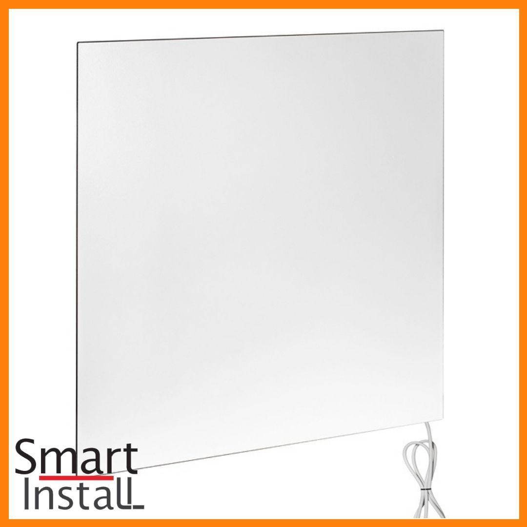 Керамічна панель 370 Вт Smart Install Model 37 біла, конвектор електричний побутовий інфрачервоний