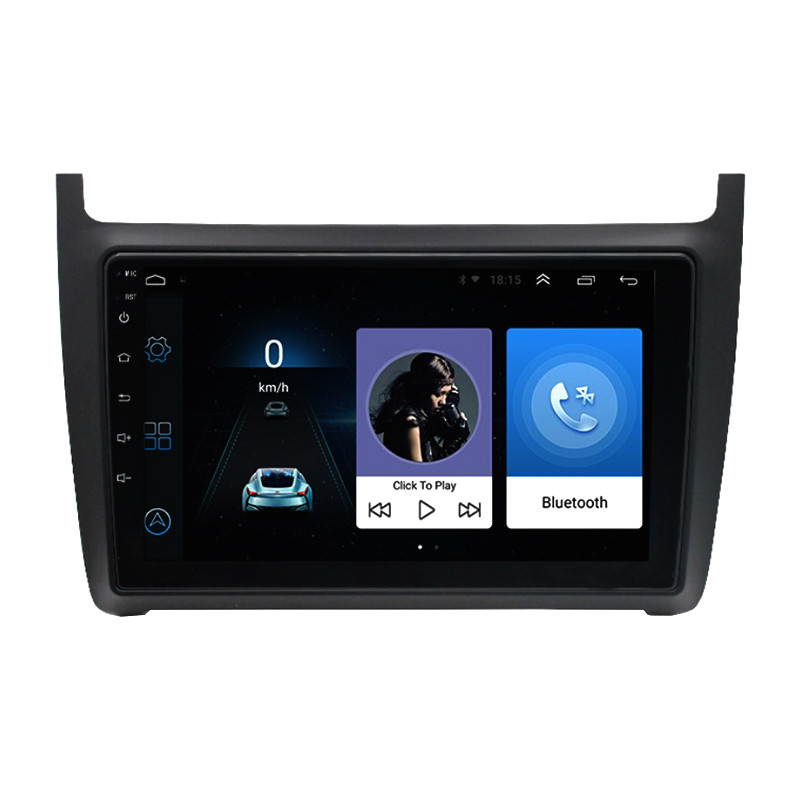 "Штатная автомобильная 9"" магнитола Lesko Volkswagen Polo (2013-2017 г.) сенсор 1/16 Гб GPS Android Can модуль"