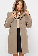 Осінньо жіноче пальто, фото 1