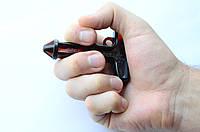 Пластиковый брелок для самообороны Стингер черный