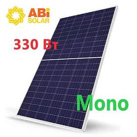 Солнечная панель Abi Solar 330 Вт 330-60MHC для домашней электростанции
