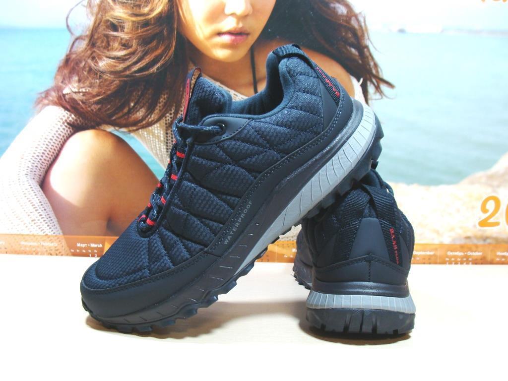 Термо кроссовки мужские BaaS waterproof синие 43 р.