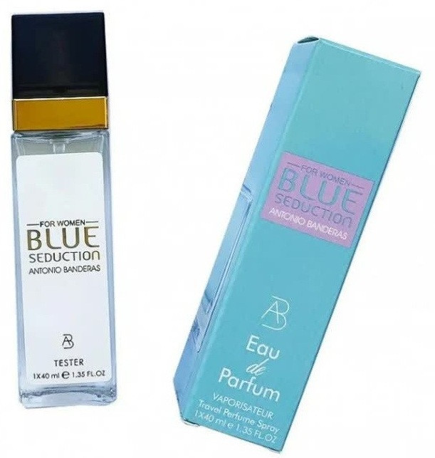Женский мини парфюм  Antonio Banderas Blue Seduction For Women - 40 мл