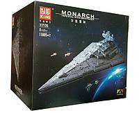 Конструктор MOULD KING Star Wars 13135  Imperial Star Destroyer Monarch (Имперский звездный разрушитель Монарх