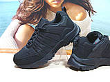 Термо - кроссовки мужские Yike waterproof черные 43 р., фото 3
