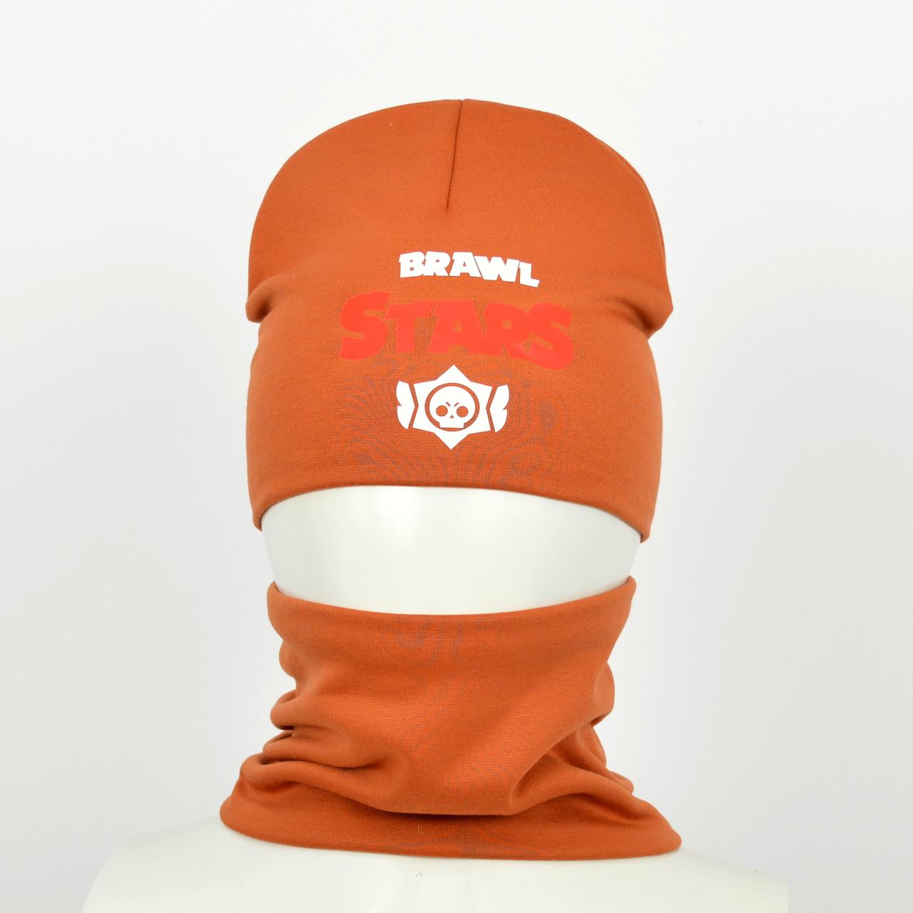 Детский комплект brawl stars оранжевый